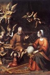 006 Sacra Famiglia con San Giovannino